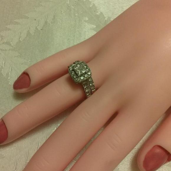 fb57c458c Kay Jewelers Jewelry | Princess Diamond Engagement Ring | Poshmark
